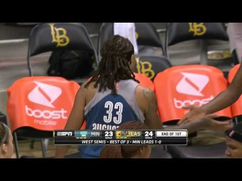 Seimone Augustus Hits the Buzzer-Beater Jumper