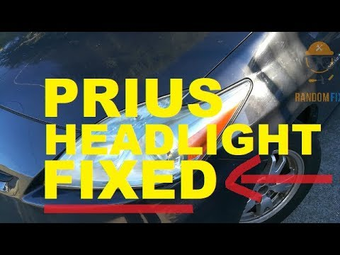 2010 Toyota Prius Headlight Keeps Burning Out Fixed Watch This Video