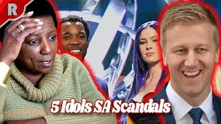 Top 5 Idols SA Scandals That Shocked Viewers