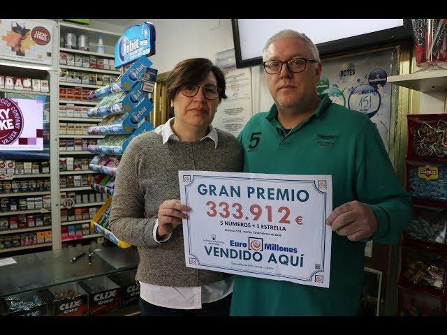 VÍDEO: La suerte toca de nuevo a Lucena y deja casi 334.000 euros para un boleto premiado en Euromillones