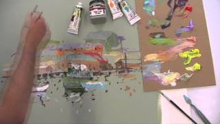 Demonstration: Matisse Structure & Background Paints