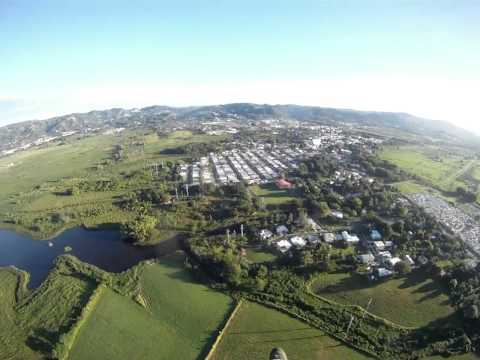 El pueblo de Anasco, Puerto Rico