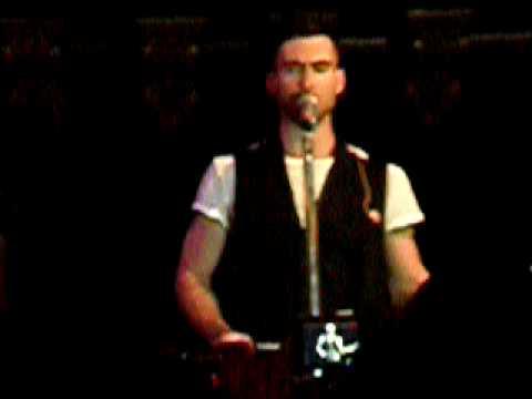 Maroon 5 - Not Falling Apart @ SF 6/1/07