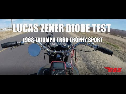 Lucas Zener Diode Test - Classic British Spares - YouTube