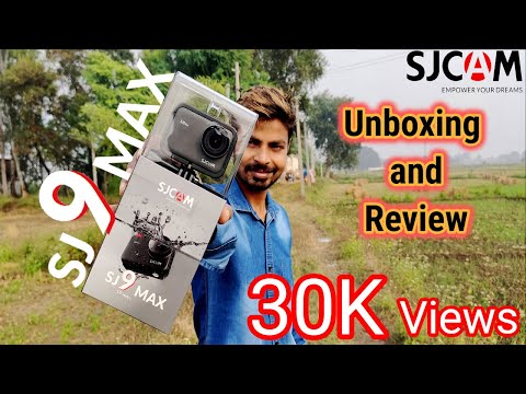 SJCAM SJ9 MAX Unboxing/Review/Camera test/Video/Picture samples