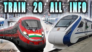 EVERYTHING YOU NEED TO KNOW ABOUT TRAIN 20 || ट्रैन 20 की सारी जानकारी  #train20 #indianrailways