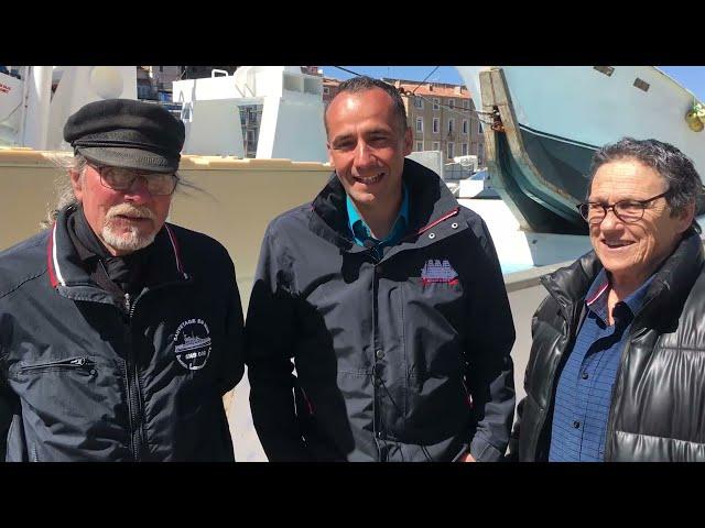 Apprendre avec les acteurs du patrimoine : L'équipage d'Escale a Sète