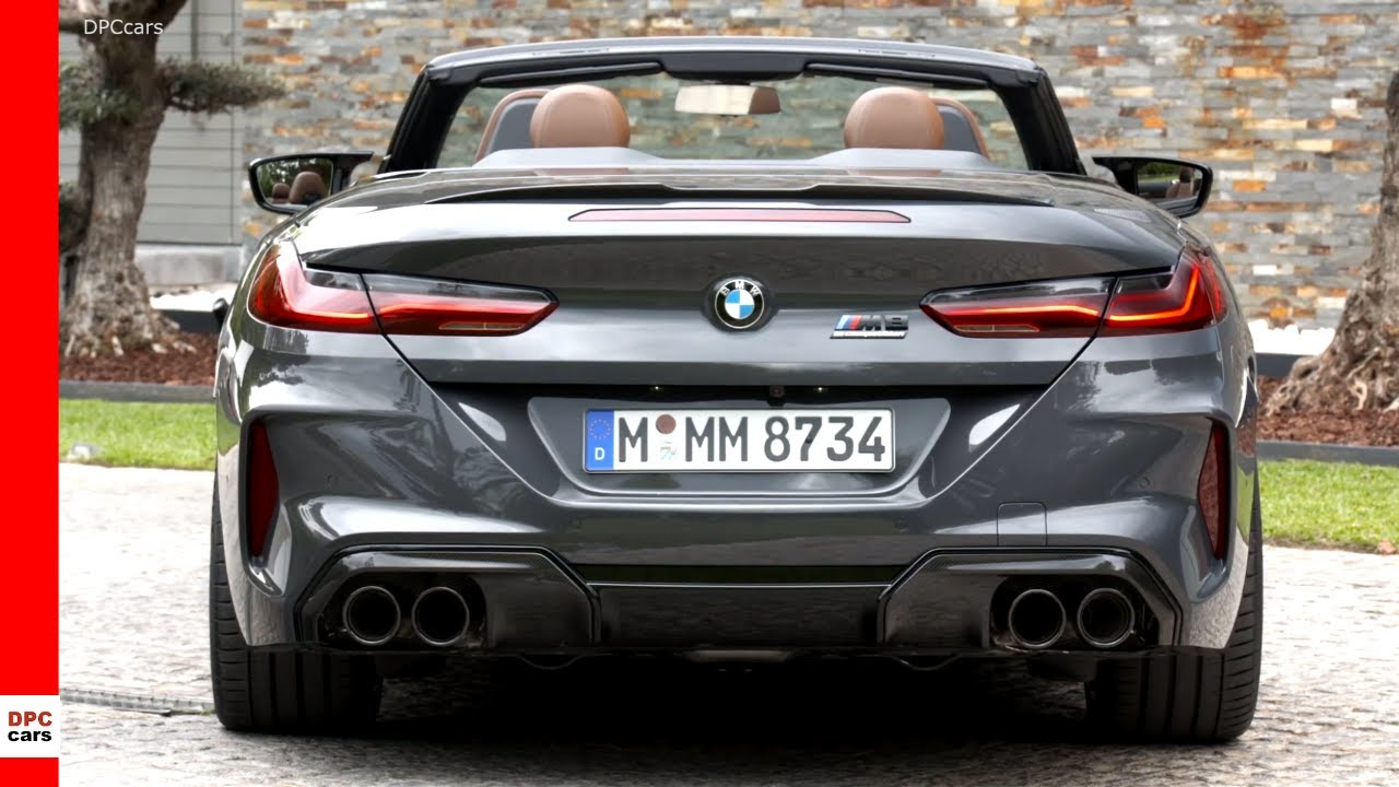 2020 Bmw M8 Competition Convertible Youtube