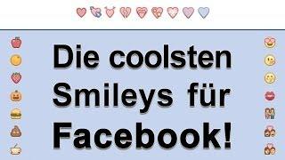 Smileys zum kopieren und einfügen facebook