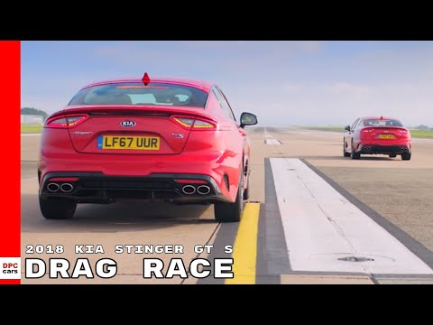 2018 Kia Stinger GT S Drag Racing