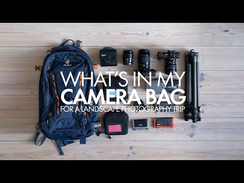 What's In My Camera Bag - Landscape Photography Trip
