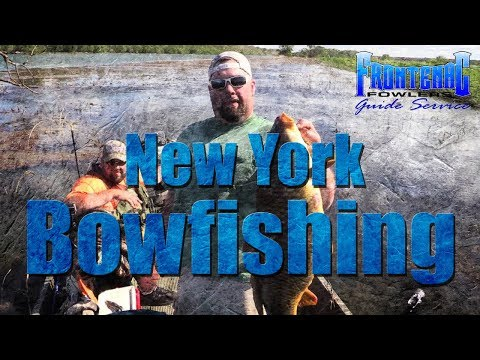 New York Bowfishing Trips With Frontenac Fowlers Guide Service