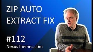 NexusThemes.com #112 - Stop mac automatically unzipping files