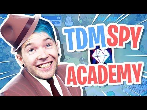 i created the DANTDM SPY ACADEMY!