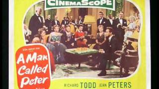 A MAN CALLED PETER 1955 Stars Richard Todd images from original movie posters and lobby cards