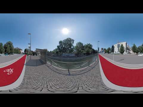 360°Virtual Reality Naviglio Martesana  - Cassina de Pomm - Milano