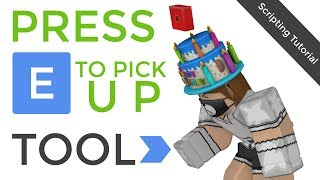 Press E To Pick Up Tool | Roblox Scripting Tutorial