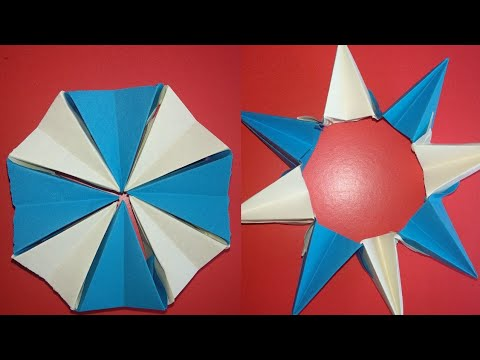 How to Make a Transforming kaleidoscope paper crafts paper origami