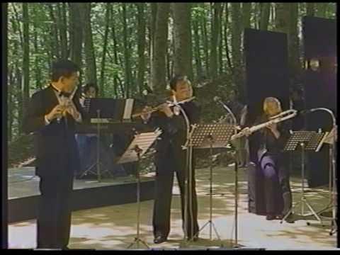 J.S.Bach: Triosonate G-dur (3) (Kazumi Sato, Takashi Tamura, Toshiaki Yokota)