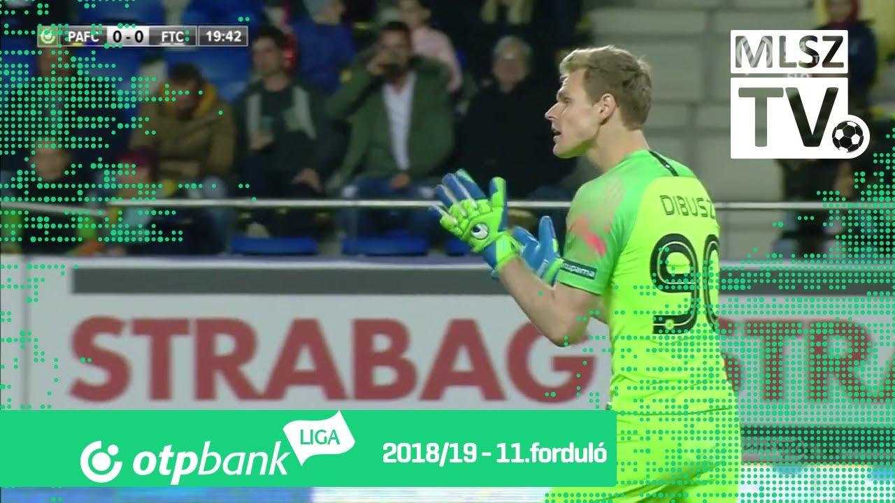 Puskás Akadémia FC  - Ferencvárosi TC | 1-0 (1-0) | OTP Bank Liga | 11. forduló | 2018/2019
