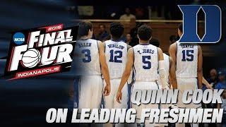 Senior Quinn Cook Embraces Leadership Role | Duke in the Final Four
