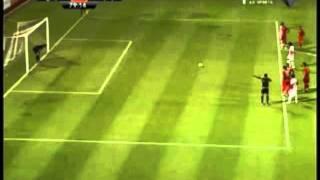 海外サッカーPK スーパーゴール ゴールキーパー唖然 thumbnail