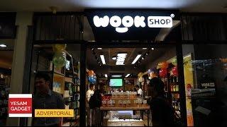 Ini adalah wook shop pertama di dunia, mall ciputra jakarta (citraland). teman-teman bisa mendapatkan accessories, pc photograph...