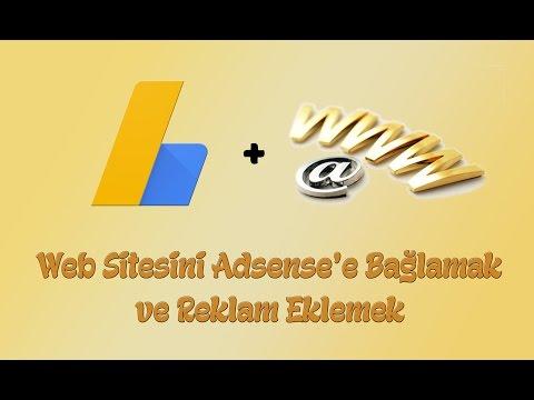 Web Sitesini Adsense'e Bağlamak Ve Reklam Vermek (Weebly)