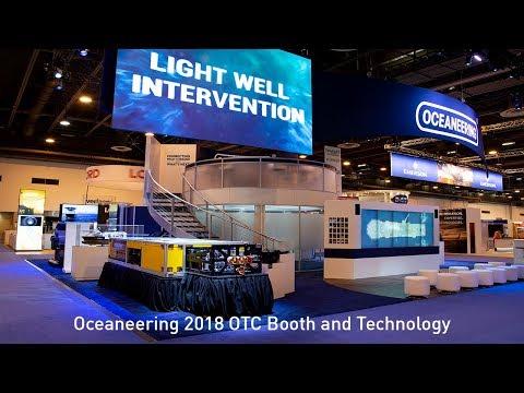 Oceaneering 2018 OTC Booth and Technology | Oceaneering
