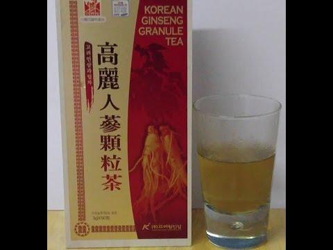 高麗人參茶試飲(Korean Ginseng Granule Tea)
