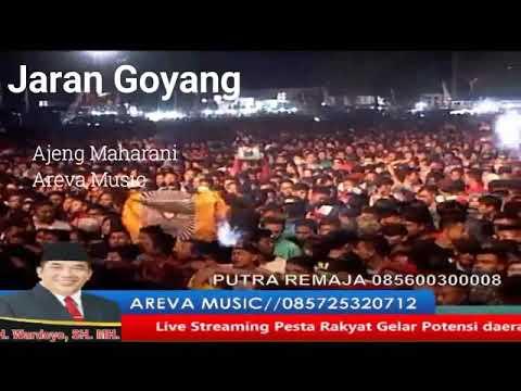 Jaran Goyang ( Ajeng Maharani ) alun alun Sukoharjo AREVA MUSIC