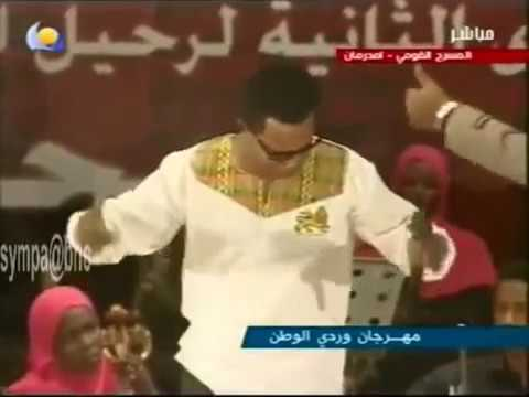 Ethiopian: music: Teddy Afro Performing Sudanese music in Khartoum