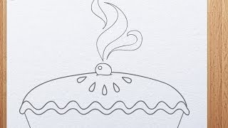 How to draw a pie