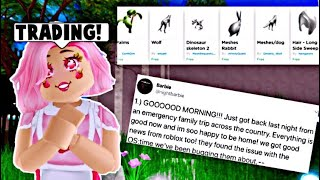 PETS ARE COMING, TRADING COMING SOON ON ROYALE HIGH?! (Roblox)