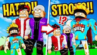 The HATED Child Becomes STRONGEST Bully in Roblox BROOKHAVEN RP!!