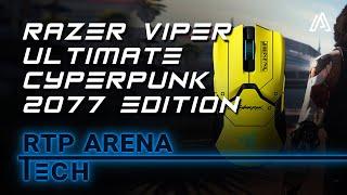Razer Viper Ultimate Cyberpunk 2077 Edition - Review | RTP Arena Tech ⚡️