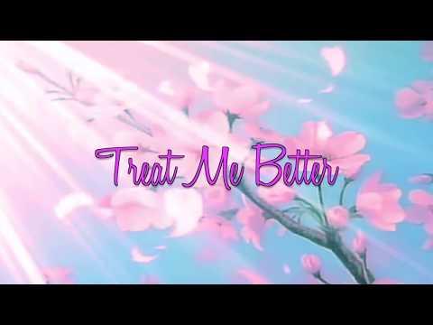 Sean Alaric - Treat Me Better (feat. Kim Gebriel & Khxos) Lyric Video
