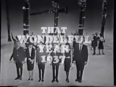 """The Garry Moore Show - segment title: """"That Wonderful Year"""" - """"1937"""""""
