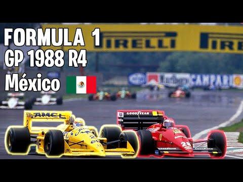 F1 1988 R4   México Gp