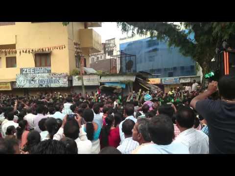 Ganesh visarjan celebration in karwar