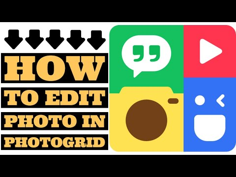 How To Edit Photo In PhotoGrid