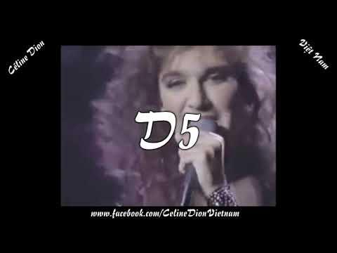 Céline Dion's Vocal Range (A2 - Bb6)