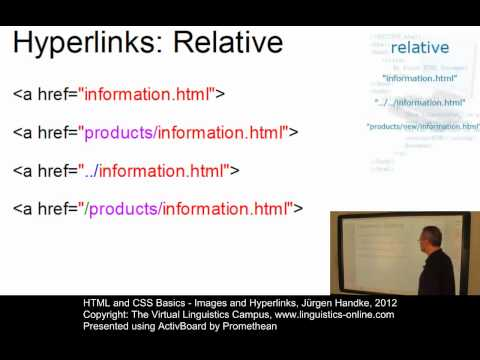 HTML And CSS Basics - Images And Hyperlinks