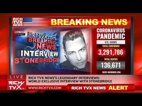 Rich TVX News's Legendary Interviews: World Exclusive Interview With StoneBridge