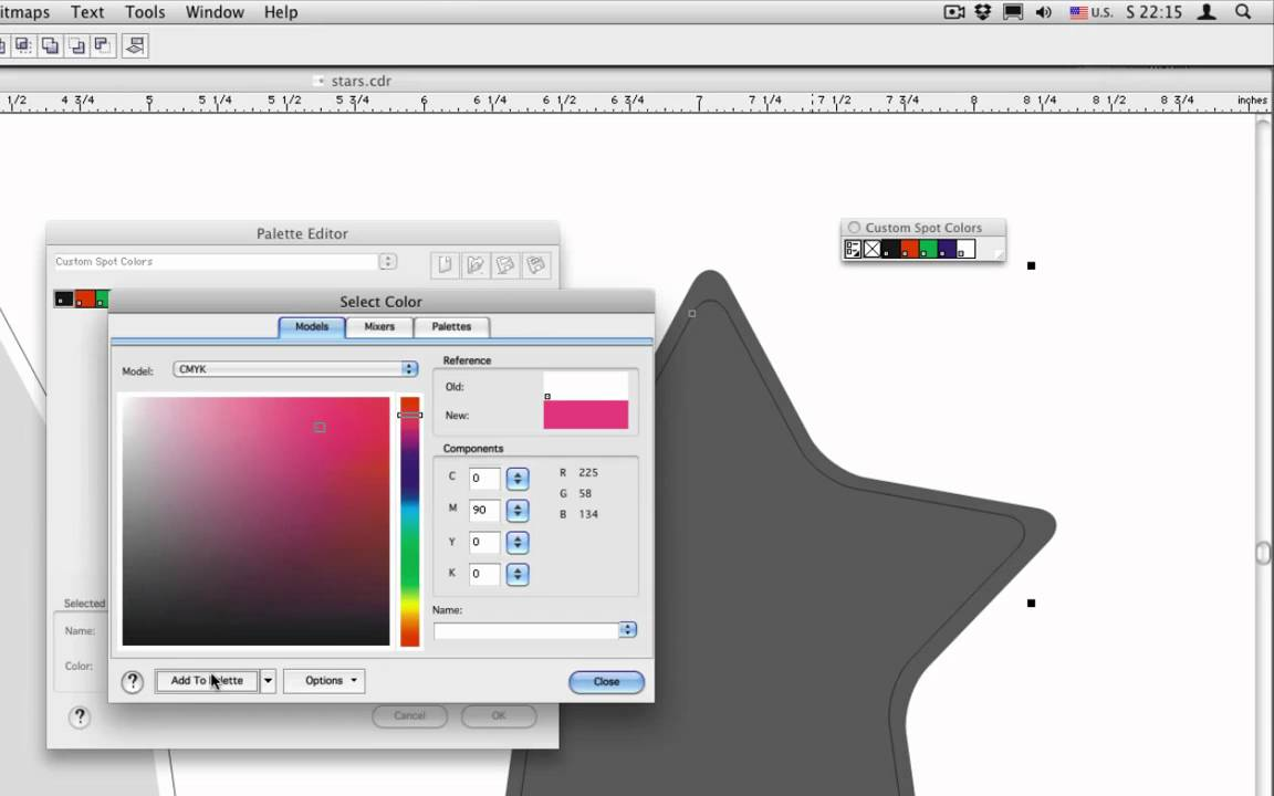 Download CorelDraw 11 for Mac