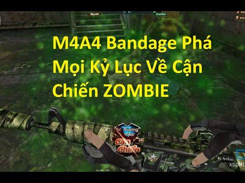 Bình Luận Truy Kích | M4 Bandage và Kỷ Lục Cận Chiến Mới - Kinh Hoàng ✔