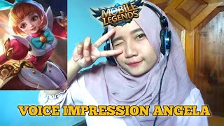 Voice Impression Angela - MIRIP GA NIH?