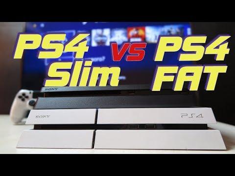 Чем отличается PS4 Slim от обычной PS4