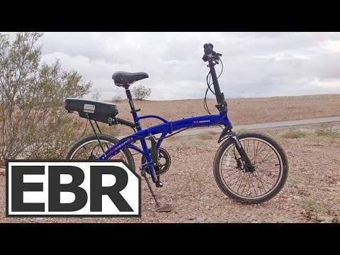 ProdecoTech Mariner 500 Video Review - Most Powerful Folding eBike, Strong 500 Watt Motor