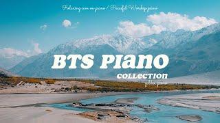 방탄소년단 피아노 모음 • 광고없음 연속재생 • 잠잘때 공부할때 일할때 듣기좋은 광고없는 음악